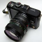 GF1 & New FD 50mm F1.4