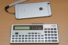 CASIO PB-200 & iPhone 6s