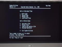 Apple II 液晶テレビで80桁表示