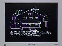 Apple IIc VGA サンプル1