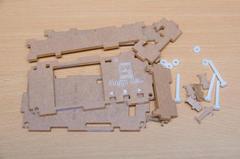 Floppy Emu ケースの部品