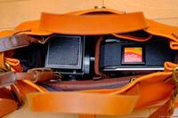 木村工房 ショルダー トートバック & Kenko カメラバッグ Luce インナーボックス S